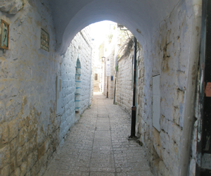 Beautiful accommodation in the Artsits' Quarter of Safed.